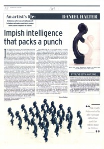 Janine Stephen 'Impish Intelligence that packs a punch'