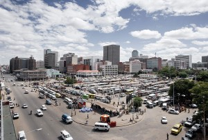 Space Invader (Harare-taxi-rank)