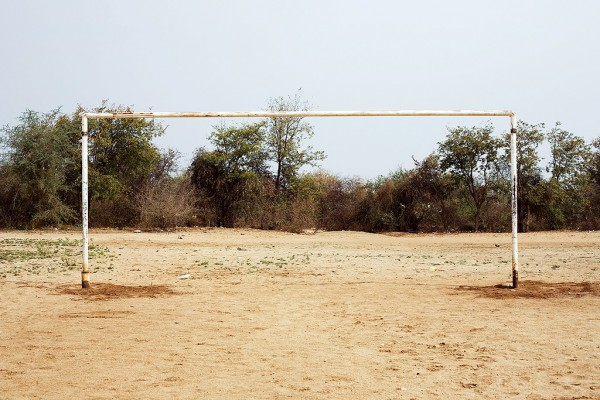 Beitbridge, Zimbabwe (South African goalpost) 2009