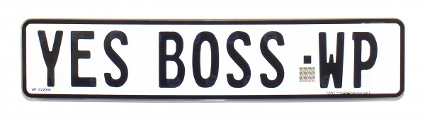 YES BOSS-WP