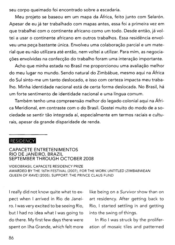 In Residency, 30 Years VideoBrasil p86 ISBN 978-85-7995-074-2