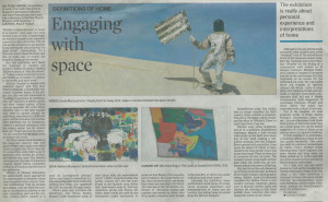 Lucinda Jolly 'Engaging with space' Cape Times 22 September 2014 p10