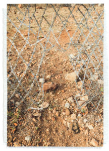 woven image of Hole in Zim / SA Border Fence