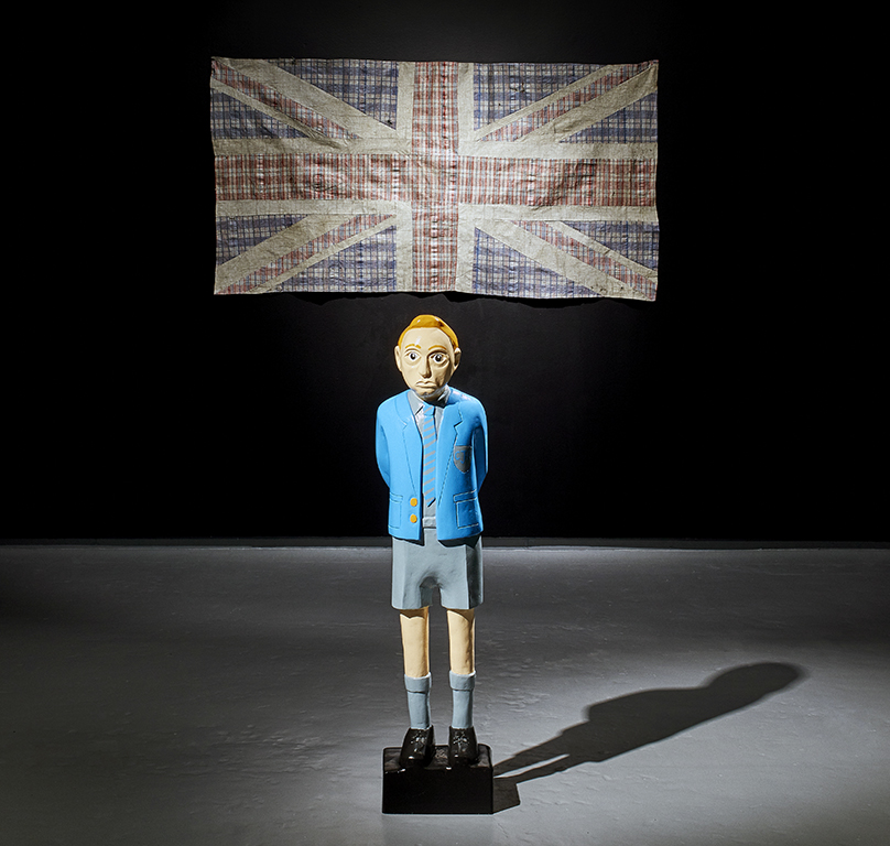 The Oppressor as a Child (installation view)