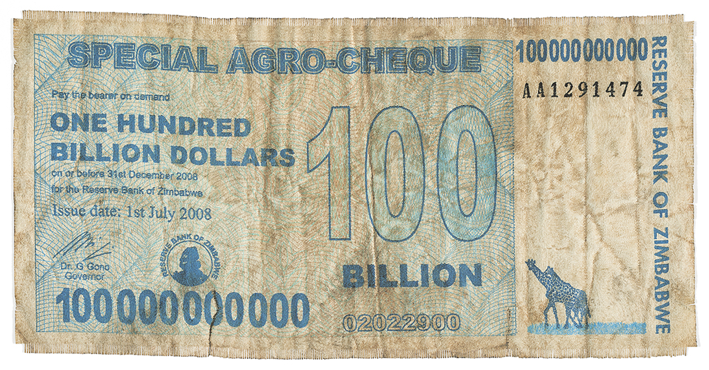 Z$100 Billion Agro-cheque